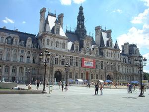 図2-3-4:パリ市庁舎