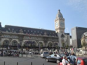 図2-3-5:リヨン駅外観