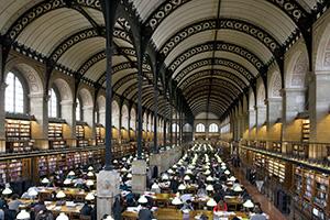 図2-3-9:La bibliothèque Sainte-Geneviève