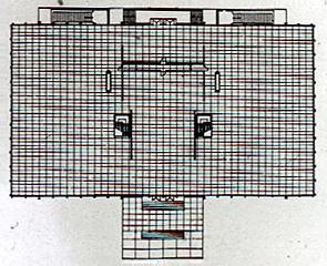図3-3-5:IITクラウンホール・プラン