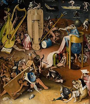 図6-2-9:Boschの快楽の園