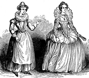 図6-2-14:ルネサンス期のドレス