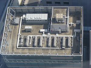 図4-5-4:オフィスビルの屋上