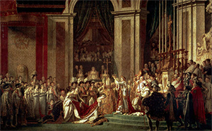 図4-8-4:ナポレオンの戴冠式