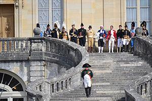図4-8-8:ナポレオン/Fontainebleauの階段