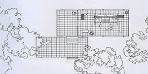 図4-8-13:ファンズワース邸プラン