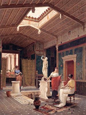 図4-10-3:古代ローマアトリウム