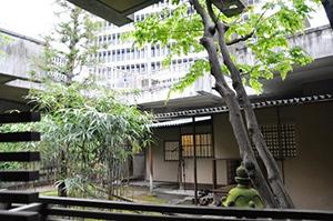 図3-4-11:旧千代田生命本社ビル茶室