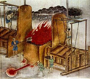 図5-7-4:たたら製鉄