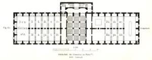 図5-7-9:サント・ジュヌヴィエーヴ図書館1階